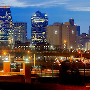Kansas City downtown skyline panorama photo