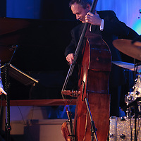 Alec Dankworth performing live at Cheltenham Jazz Festival, 2011-04-27