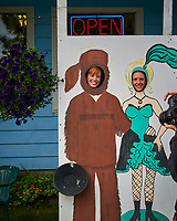 Fun in Wrangell. Image taken with a Nikon D300 camera and 70-300 mm VR lens.