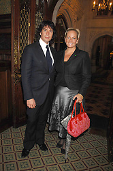 LAURENCE & JACKIE LLEWELYN-BOWEN at a reception for the third NSPCC Hall of Fame Awards Ceremony in the Members Dining Room, The House of Commons, London on 15th May 2007.<br /><br />NON EXCLUSIVE - WORLD RIGHTS