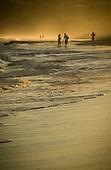 Stock Photos of a summer afternoon beach walk