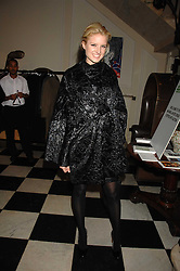 FIONA SCARRY at an action of art donated by leading artists sponsored by De'Longhi in aid of Macmillan Cancer Support held at the Arts Club, Dover Street, London on 8th November 2007.<br /><br />NON EXCLUSIVE - WORLD RIGHTS