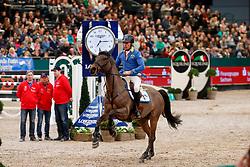 Ahlmann Christian, GER, Ailina <br /> Leipzig - Partner Pferd 2018<br /> CSI-W 5* IDEE Kafee Preis    <br /> © Hippo Foto - Stefan Lafrentz<br /> 19/01/2018