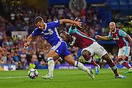 Chelsea v West Ham United 150816