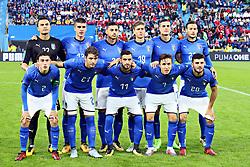 FOTO DI SQUADRA ITALIA TEAM PHOTO<br /> CALCIO AMICHEVOLE ITALIA - MAROCCO U21