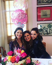 """Maria Shriver releases a photo on Twitter with the following caption: """"""""I love you, I like you, I admire you and I can't wait to watch your beautiful life unfold. Love you to moon &back! Love Mommy 🥰"""""""". Photo Credit: Twitter *** No USA Distribution *** For Editorial Use Only *** Not to be Published in Books or Photo Books ***  Please note: Fees charged by the agency are for the agency's services only, and do not, nor are they intended to, convey to the user any ownership of Copyright or License in the material. The agency does not claim any ownership including but not limited to Copyright or License in the attached material. By publishing this material you expressly agree to indemnify and to hold the agency and its directors, shareholders and employees harmless from any loss, claims, damages, demands, expenses (including legal fees), or any causes of action or allegation against the agency arising out of or connected in any way with publication of the material."""