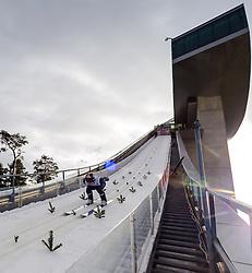 03.01.2013, Bergisel Schanze, Innsbruck, AUT, FIS Ski Sprung Weltcup, 61. Vierschanzentournee, Training, im Bild Anders Jacobsen (NOR) // Anders Jacobsen of Norway during practice Jump of 61th Four Hills Tournament of FIS Ski Jumping World Cup at the Bergisel Schanze, Innsbruck, Austria on 2013/01/03. EXPA Pictures © 2012, PhotoCredit: EXPA/ Juergen Feichter