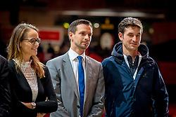 L'Année Hippique Awards<br /> Mottu Morel Sophie, Michel Sorge, Guerdat Steve, SUI<br /> CHI Genève 2019<br /> © Hippo Foto - Dirk Caremans<br />  14/12/2019