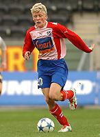 Fotball Cup-finale jr. 01.10.05, Rosenborg - Lyn 4-0<br /> Jonathan Parr<br /> Foto: Carl-Erik Eriksson. Digitalsport