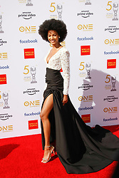 March 30, 2019 - Los Angeles, CA, USA - LOS ANGELES, CA - MAR 29: Ebonee Davis attends the 50th NAACP Image Awards Non-Televised Dinner at The Berverly Hilton on March 29 2019 in Los Angeles CA. Credit: CraSH/imageSPACE/MediaPunch (Credit Image: © Imagespace via ZUMA Wire)