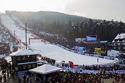 "Fans during FIS Alpine Ski World Cup 7th Ladies' Giant Slalom race named ""49th Golden Fox 2013"", on January 26, 2013 in Mariborsko Pohorje, Maribor, Slovenia. (Photo By Vid Ponikvar / Sportida.com)"