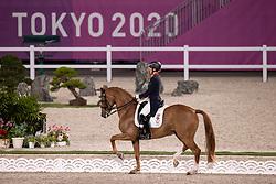 Dujardin Charlotte, GBR, Gio, 133<br /> Olympic Games Tokyo 2021<br /> © Hippo Foto - Dirk Caremans<br /> 27/07/2021