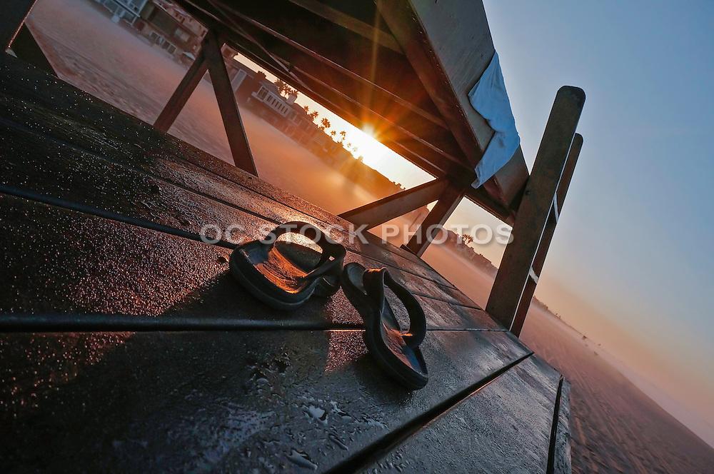 Sunrise in Newport Beach California