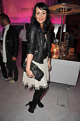 MARTINE McCUTCHEON at the launch of Project PEP to benefit the Elton John Aids Foundation hosted by Tamara Mellon and Diana Jenkins in association with Jimmy Choo held at Selfridges, Oxford Street, London on 29th October 2009.