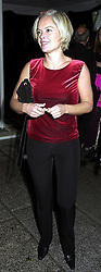 TV Presenter MARIELLA FROSTRUP, at an exhibition in London on 18th September 2000.OGZ 103