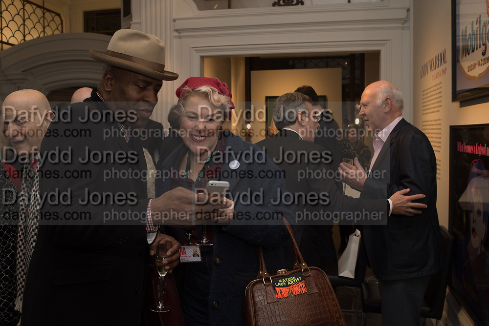 FRANK OKOLO; SADIE HENNESSY, The launch of The City of Westminster: A Celebration of People,  published by Quartet in collaboration with the Sir Simon Milton Foundation. Hosted by Robert Davis MBE and Naim Attallah CBE, Halcyon Gallery. London. 20 March 2017.