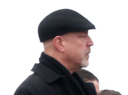 Don Burton arrives for the funeral of his ex-wife and Cranberries singer Dolores O'Riordan at Saint Ailbe's Church, Ballybricken.