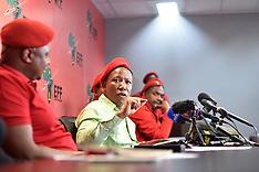 Julius Malema press conference - 23 Aug 2018