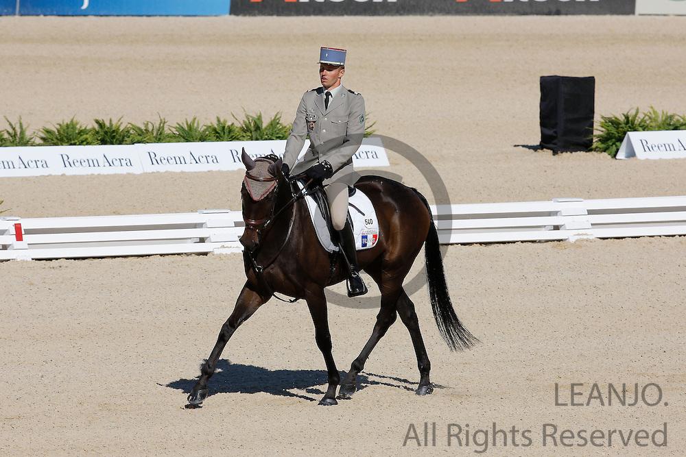 Donatien Schauly - Seculaire<br /> Alltech FEI World Equestrian Games <br /> Lexington - Kentucky 2010<br /> © DigiShots