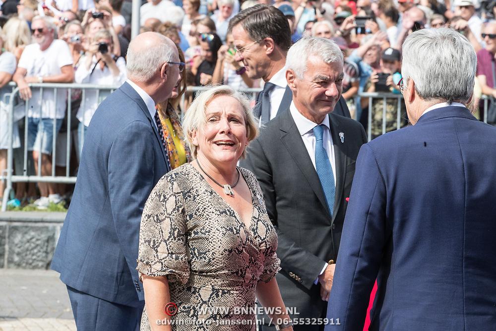 NLD/Terneuzen/20190831 - Start viering 75 jaar vrijheid, Ank Bijleveld