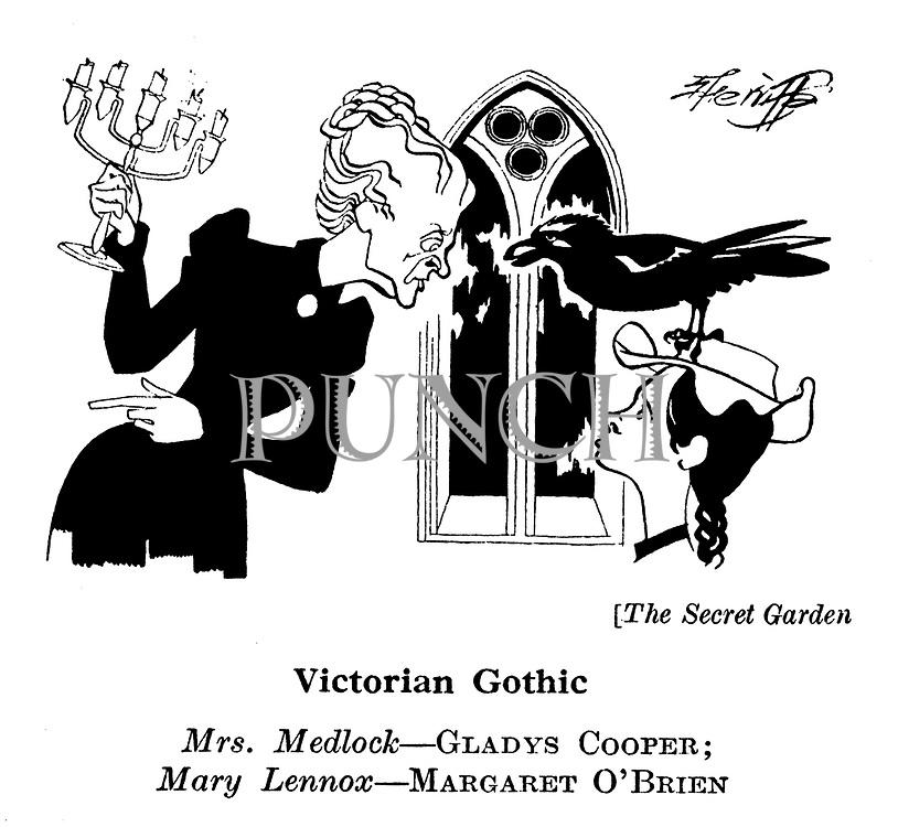The Secret Garden ; Gladys Cooper and Margaret O'Brien