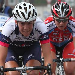 Sportfoto archief 2006-2010<br /> 2009<br /> Nederlands kampioenschap weg in Landgraaf-Heerlen. Iris Slappendel in actie