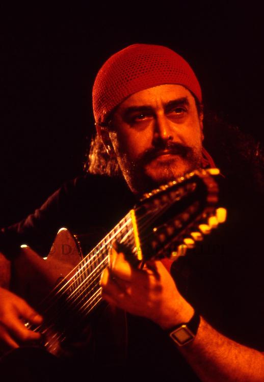 Egberto Gismonti, 1994<br /> Photo by Darrin Zammit Lupi