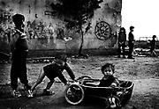 Ghetto in Moldava Nau Bodvou, Slovakia.