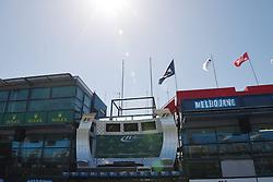 11.03.2015, Albert Park Circuit, Melbourne, AUS, FIA, Formel 1, Grand Prix von Australien, Vorberichte, im Bild Podium // during Preparations for the FIA Formula One Grand Prix of Australia at the Albert Park Circuit in Melbourne, Australia on 2015/03/11. EXPA Pictures © 2015, PhotoCredit: EXPA/ Sutton Images/ Mark Images<br /> <br /> *****ATTENTION - for AUT, SLO, CRO, SRB, BIH, MAZ only*****