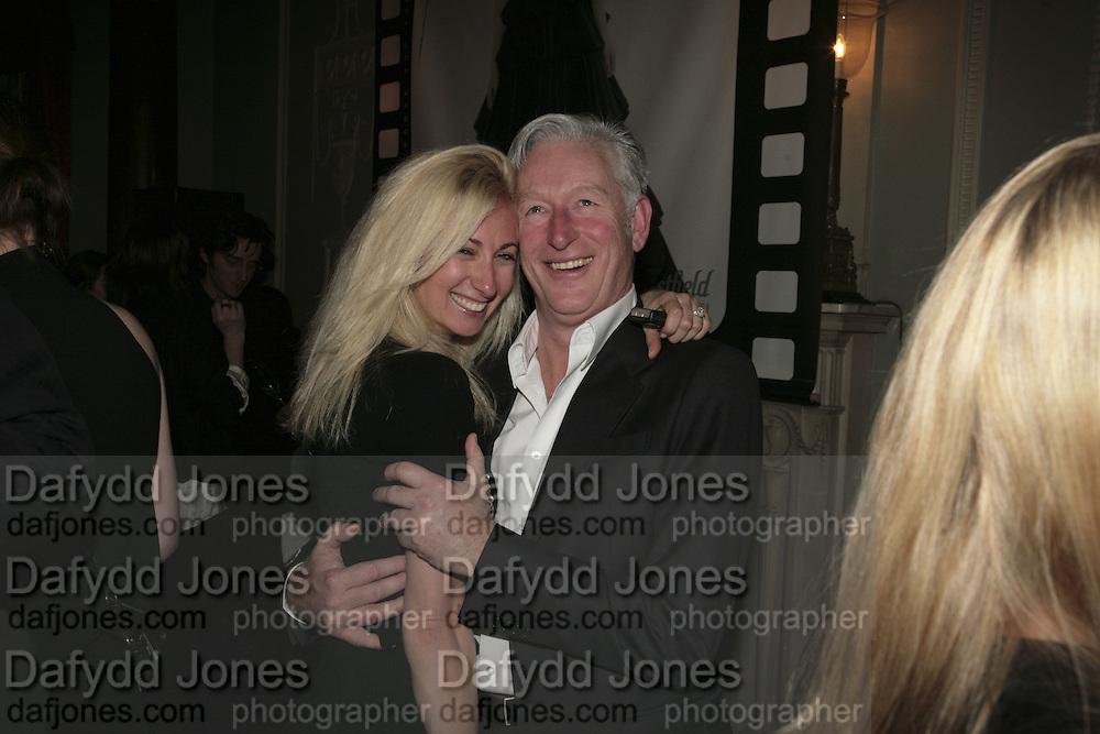 Jenny Halpern and David Slade, Westfield Launch and BFC celebrate Fashion Forward. Home House, Portman Sq. London. 30 January 2007.  -DO NOT ARCHIVE-© Copyright Photograph by Dafydd Jones. 248 Clapham Rd. London SW9 0PZ. Tel 0207 820 0771. www.dafjones.com.