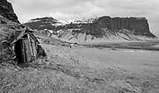 Sod barn - south coast of Iceland