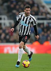 Newcastle United's Fabian Schar during the Premier League match at St James' Park, Newcastle.