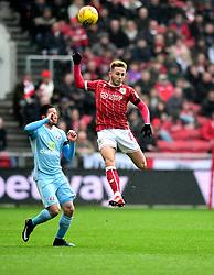 Josh Brownhill of Bristol City clears the ball  - Mandatory by-line: Joe Meredith/JMP - 10/02/2018 - FOOTBALL - Ashton Gate Stadium - Bristol, England - Bristol City v Sunderland - Sky Bet Championship