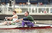 """Putney. London. GREAT BRITAIN;  NED LM1X. Frans GOEBEL<br /> <br /> 1995 Thames World Sculling Championships, Putney to Mortlake. Championship Course, River Thames.<br /> <br /> [Mandatory Credit; """"Photo, Peter Spurrier/Intersport-images]"""