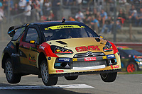 11 SOLBERG PETTER (NOR) CITROEN DS3 SUPERCAR TEAM PS 100%AB ACTION during the 2014 FIA RX World Rallycross Championship at Loheac, France, from September 6th to 7th. Photo Jean Michel Le Meur / DPPI