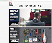The Royal Navy Weapon's Engineer recruitment campaign. e3 Media