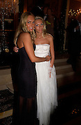Tamara and Petra  Ecclestone, Crillon 2004 Debutante Ball. Crillon Hotel. Paris. 26 November 2004. ONE TIME USE ONLY - DO NOT ARCHIVE  © Copyright Photograph by Dafydd Jones 66 Stockwell Park Rd. London SW9 0DA Tel 020 7733 0108 www.dafjones.com