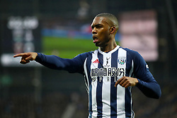 """West Bromwich Albion's Daniel Sturridge during the Premier League match at The Hawthorns, West Bromwich. PRESS ASSOCIATION Photo. Picture date: Saturday February 3, 2018. See PA story SOCCER West Brom. Photo credit should read: Nick Potts/PA Wire. RESTRICTIONS: EDITORIAL USE ONLY No use with unauthorised audio, video, data, fixture lists, club/league logos or """"live"""" services. Online in-match use limited to 75 images, no video emulation. No use in betting, games or single club/league/player publications."""