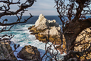 The Pinnacle at Point Lobos State Preserve, near Carmel by the Sea, California, highway 1, Monterey Peninsula