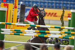 Goncalves Luis Sabino, (POR), Filou Imperio Egipcio<br /> Team completion and 2nd individual qualifier<br /> FEI European Championships - Aachen 2015<br /> © Hippo Foto - Dirk Caremans<br /> 20/08/15