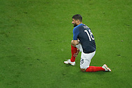 Nabil FEKIR (FRA) knee on the floor during the FIFA Friendly Game football match between France and Republic of Ireland on May 28, 2018 at Stade de France in Saint-Denis near Paris, France - Photo Stephane Allaman / ProSportsImages / DPPI