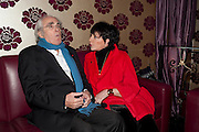 Michel Legrand; Liza Minnelli, THE UMBRELLAS OF CHERBOURG PRESS NIGHT FOLLOWED BY A PARTY AT STUDIO VALBONNE, 62 KINGLY STREET, London. 22 March 2011. <br />  -DO NOT ARCHIVE-© Copyright Photograph by Dafydd Jones. 248 Clapham Rd. London SW9 0PZ. Tel 0207 820 0771. www.dafjones.com.