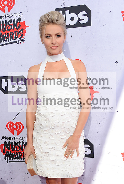 Julianne Hough at the 2016 iHeartRadio Music Awards held at the Forum in Inglewood, USA on April 3, 2016.