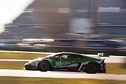 January 27-29, 2021. IMSA Weathertech Series. Rolex Daytona 24h:  #111 GRT Grasser Racing Team, Lamborghini Huracan GT3, Rolf Ineichen, Mirko Bortolotti, Steijn Schothorst, Marco Mapelli