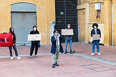 20210513 PROTESTA STUDENTI FERRARA