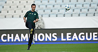 24/08/15<br /> CELTIC TRAINING<br /> MALMO - SWEDEN<br /> Celtic manager Ronny Deila gets on the ball during training