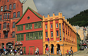 The Hanseatic museum building, Bryggen area, city centre of Bergen, Norway