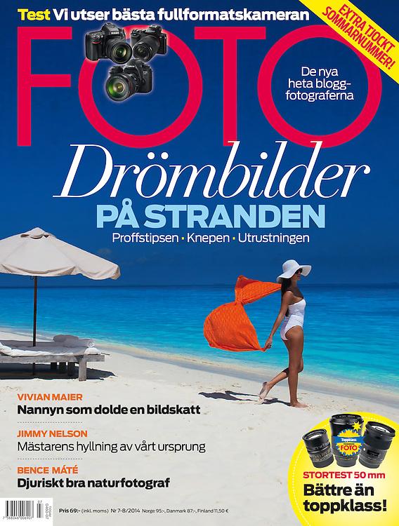 Cover shoot in the Maldives at Soneva Fushi Model Paulina Blåder at Modellink and Elite #soneva #foto #maldives #dankullberg.com #beach #paradise #strand #beach #omslag #stylist #Daniel Bergman