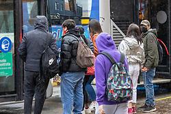 STAZIONE FERROVIARIA TRENI<br /> RIAPERTURA SCUOLE SCUOLA AUTOBUS BUS TPER TRASPORTI TRAFFICO STUDENTI STUDENTE COVID CORONAVIRUS COVID19 COVID-19   STAZIONE FERRARA