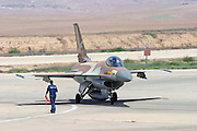 IAF F16I Fighter jet ready for take off